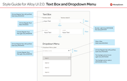 Alloy 2.0 UI Style Guide_Text Box and Dropdown
