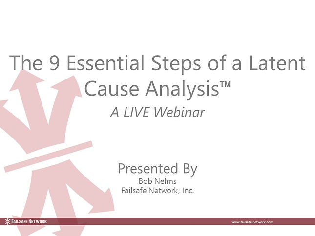 The nine essential steps of an LCA-05012
