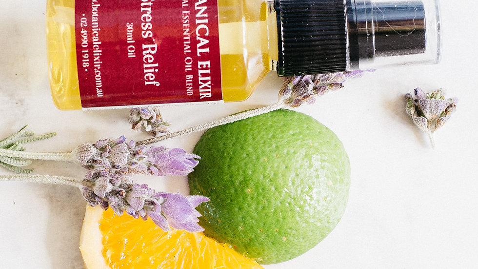 Stress Relief Topical Oil