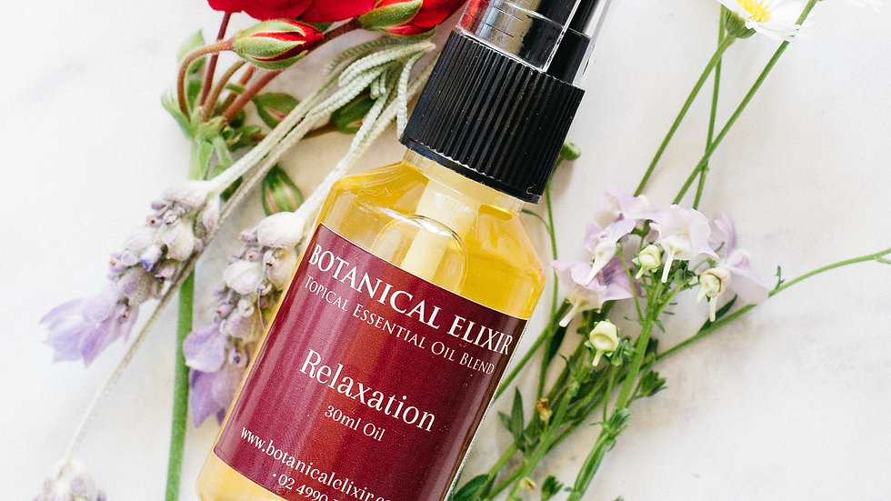 Relaxation Topical Oil