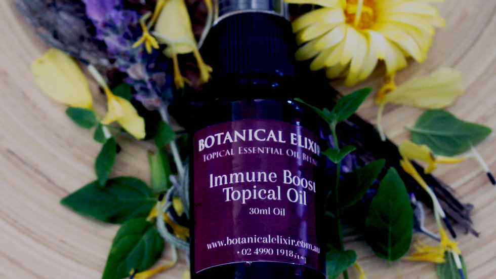 Immune Boost Topical Oil Blend