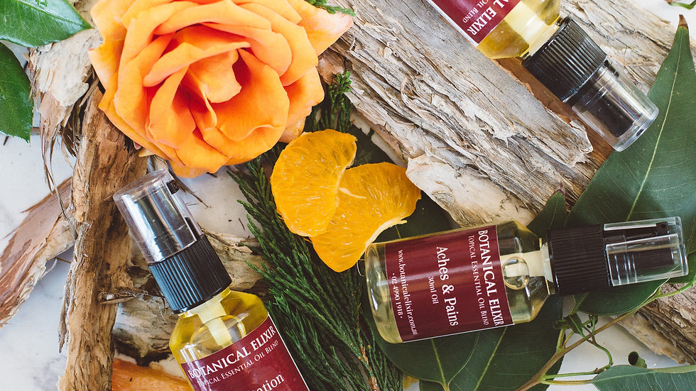 Calming Topical Oil Kit