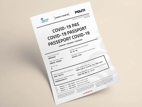 06-08.07.2020 - It is now possible to get a corona-passport for going abroad
