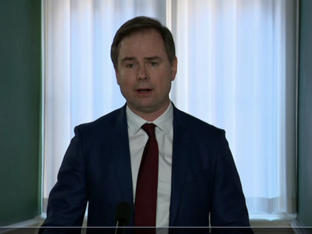 Summary, 26.03.2020 - Press conference w. municipalities and regions - removal of the fixed ceiling
