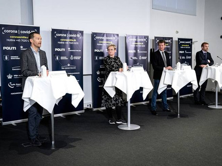 Summary, 27.03.2020 - 3 press conferences, and other news - New test method in Denmark!