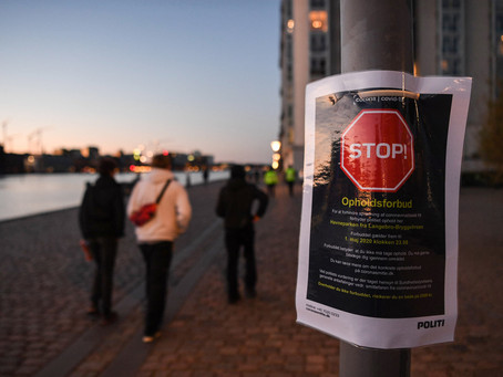 Summary, 25.04.2020 - Stopping up at Islands Brygge is now illegal through the 1st of May