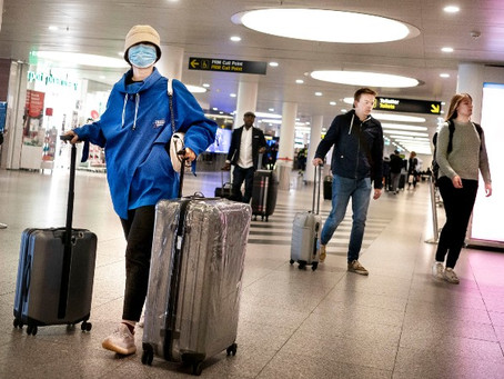 Summary, 04.06.2020 - Facial masks will be mandatory in Danish airports from the 15th of June.