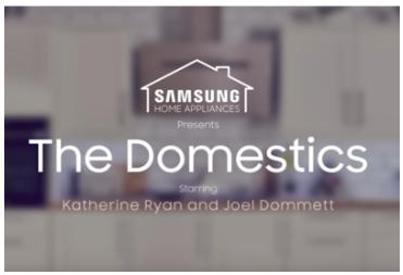 Samsung - The Domestics Trailer, Featuring Katherine Ryan & Joel Dommett