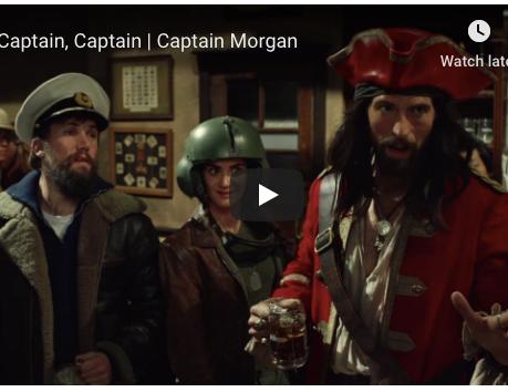 Captain Morgan - Captain, Captain!