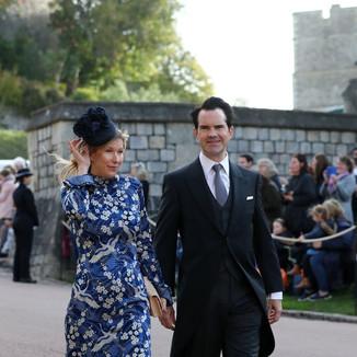 Jimmy Carr & Karoline Copping, Royal Wedding