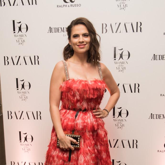 Hayley Atwell Harpers Bazaar
