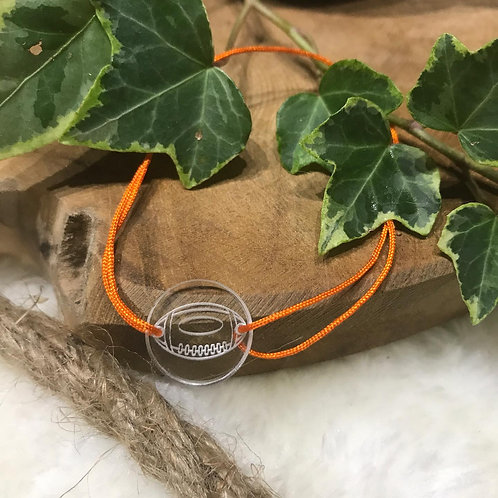 Bracelet Nylon et Cible Plexi