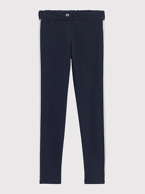Pantalon Bleu Marine Fille