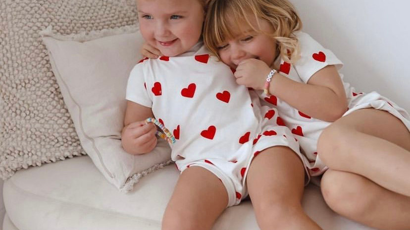 Pyjama Coeur Court