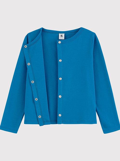 Cardigan Gilet Bleu