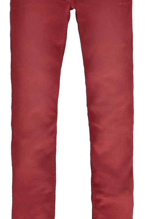 Pantalon Rouge Bordeaux