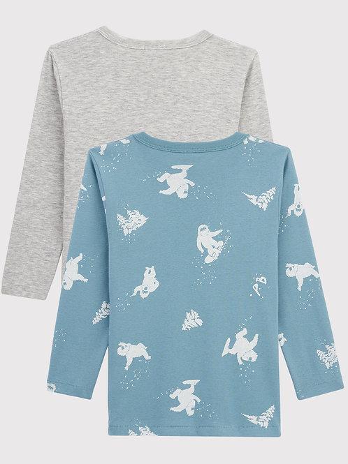 Tee Shirt Manches Longues Garçons (Lot de 2)