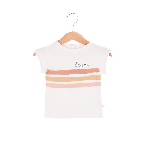 Tee Shirt Fille Brave
