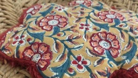 Bouillotte Mini Nuage Tissu Indien
