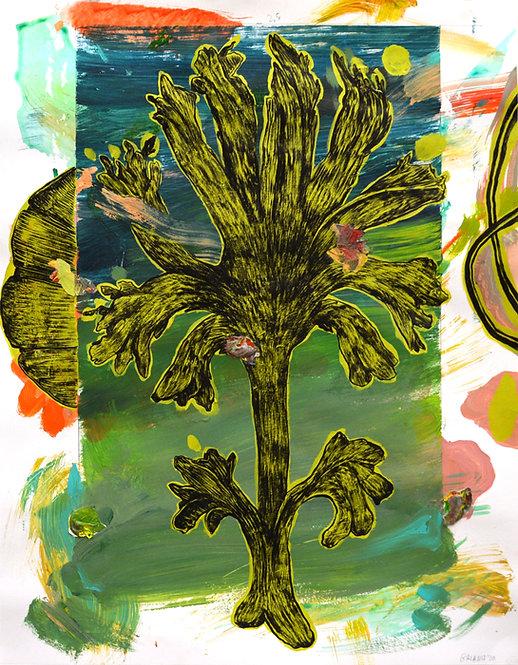 """Coral #1 (After Haeckel's """"Kunstformen der Natur""""), 2020"""