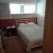 Bedroom at Residency space