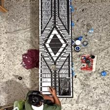 'Ritual Bench' Paperman