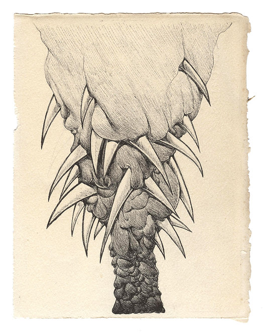 Study for and artificial palm tree
