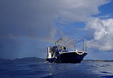 ダイビング船moana