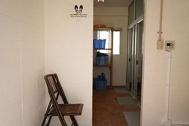 ダイブリゾート母島シャワー室