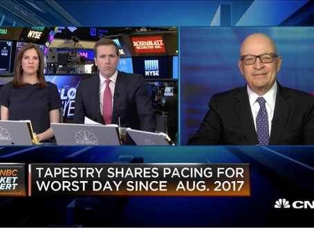 Tapestry looks like a buying opportunity, says expert
