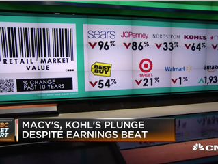 We like Kohl's ability to drive brands into stores
