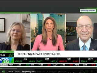 Reopening Retail Stocks: DTLR, DG, ROST, AMZN, W