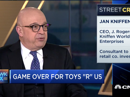 Toys R Us liquidation talks marks end of an era