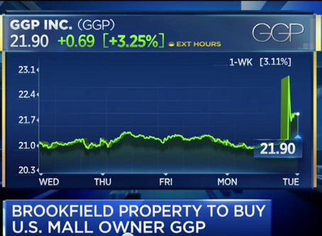Jan Kniffen talks about the Brookfield/GGP deal