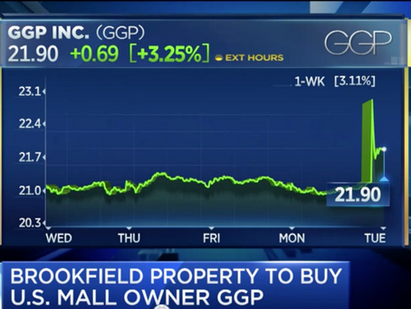 Jan Kniffen talks about the Brookfield/GGP deal