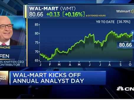 Wal-mart analyst day kicks off