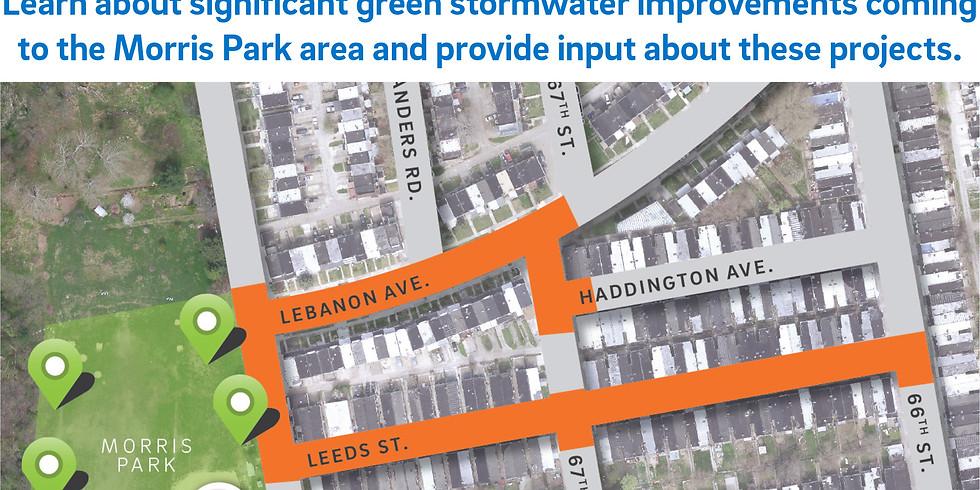 COMMUNITY MEETING:  Green Storm Water Improvements at Morris Park
