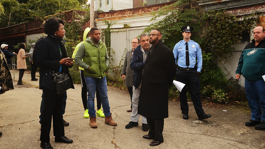 N.O.A.H. Neighborhood Walk Thru w/Councilman Jones & city depts.
