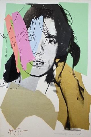 """""""Mick Jagger""""-Andy Warhol"""