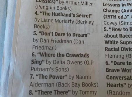 #5 no the Oklahoma best-sellers list!