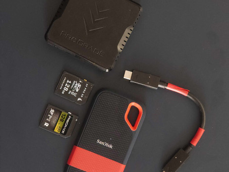 Backing Up Your Footage Safely & Quickly