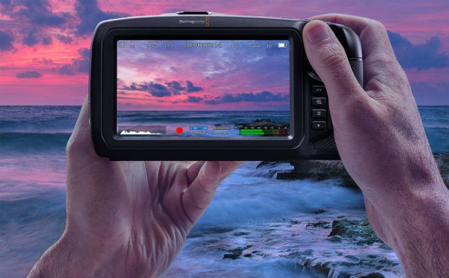 Blackmagic Pocket Cinema Camera - In action