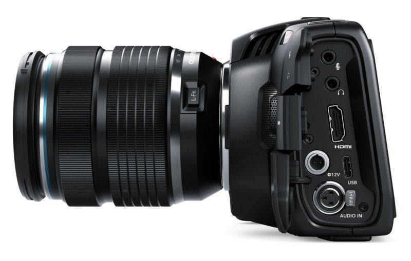 Blackmagic Pocket Cinema Camera - I/O ports