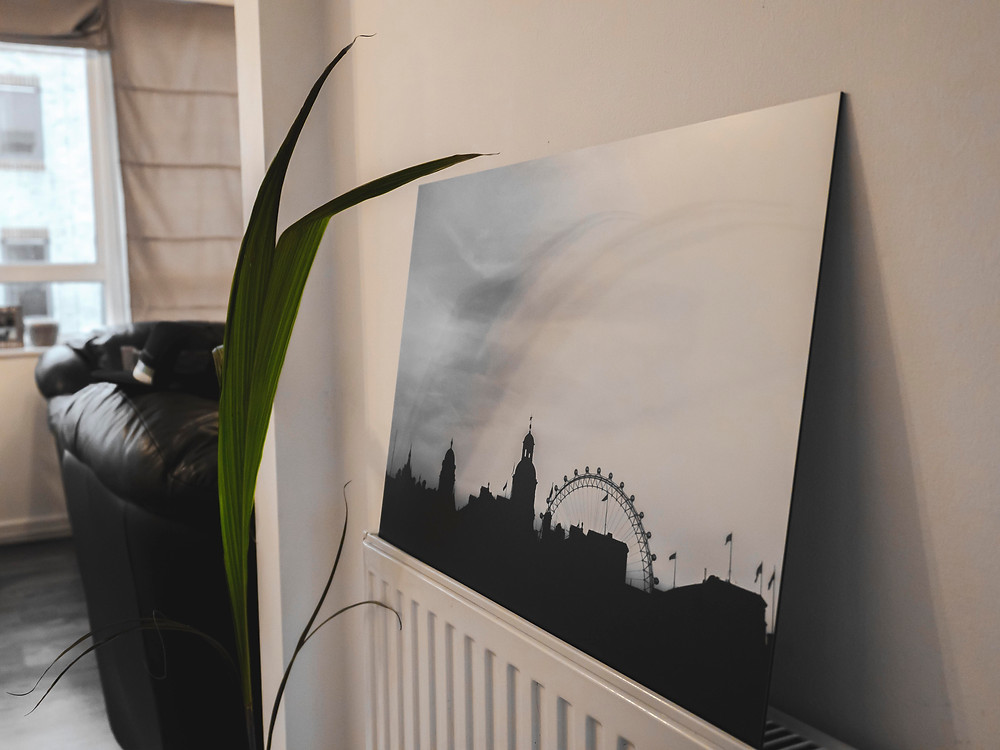 Aluminium  Photography Print - London Cityscape
