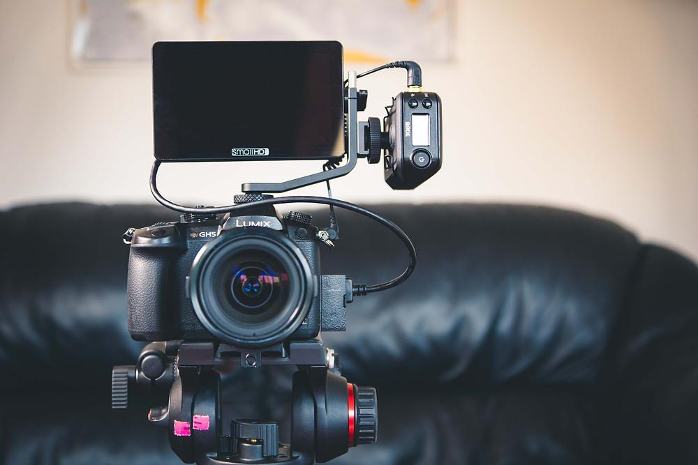SmallHD Focus OLED with Panasonic GH5 camera.