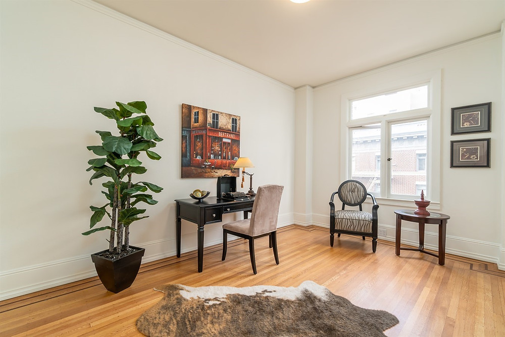 This room could be used as an Office, Reading room, or even a bedroom