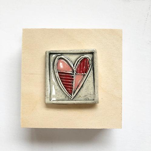 mini heart tiles