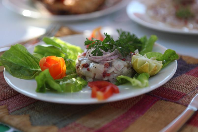 Fish tartar