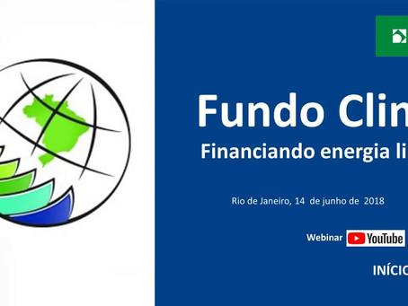 Financiamento BNDES - Fundo Clima