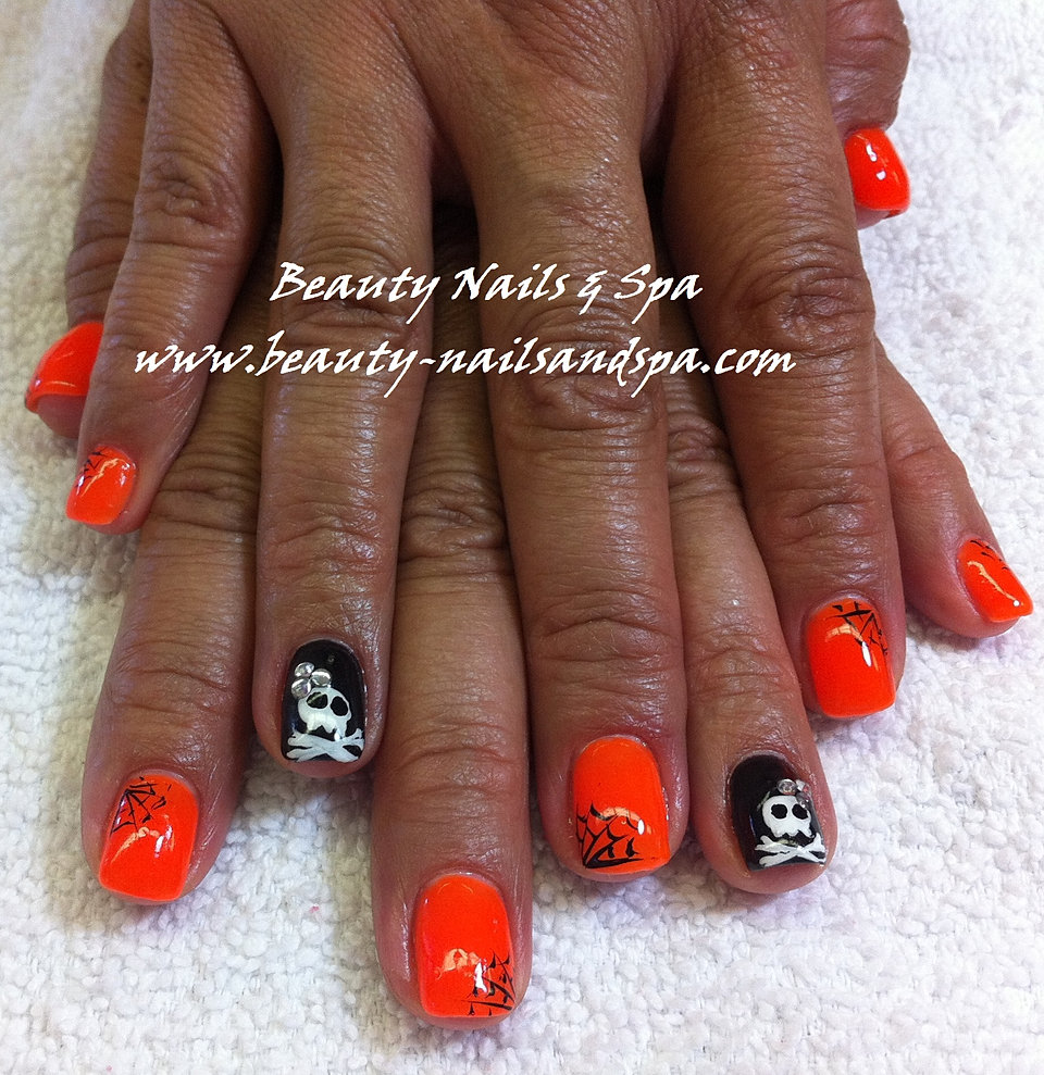 Nails spa beauty nails and spa gel nail designs 2013 halloween 2013 prinsesfo Images